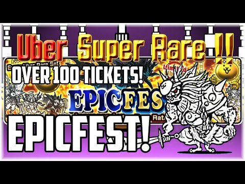 The Battle Cats | Uberfest Rare Capsule Opening (114