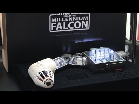 """[Unboxing] STK Workshop """"Build The Millennium Falcon"""" #1(The Cockpit and Hold)"""