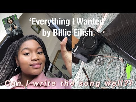 i wrote 'everything i wanted' by BILLIE EILISH before she released it