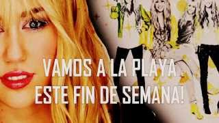 Beach Weekend - Miley Cyrus (New Song FULL from Hannah Montana 2014) Traducida al Español HD