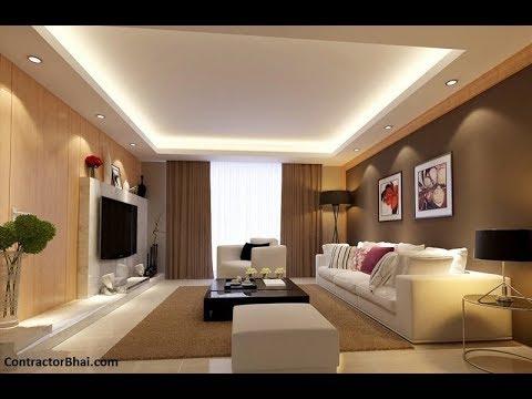 Дизайн Потолка в Гостиной - фото 2018 / Ceiling Design in the Living Room Photo