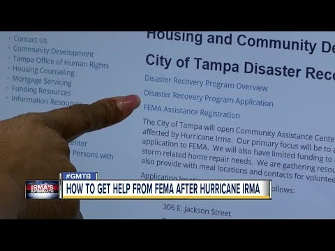 How to get help from FEMA after Hurricane Irma