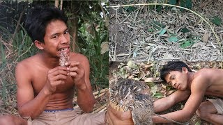 Primitive Technology: Create traps to traps animals - Show cooking living In Ancient Times