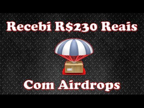 Recebi R$230 reais com Airdrops apenas em 1 semana ! Atualizações de Airdrops pagos.