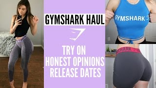 GYMSHARK NEW RELEASES | Try On Haul | Release Dates | Affordable Gym Clothes Haul