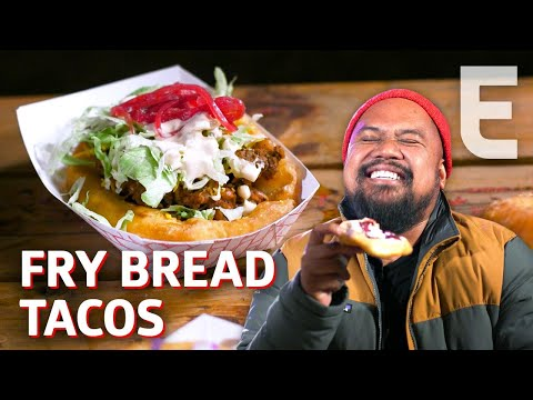 Fry Bread Tacos from a Native American Food Truck — Cooking in America