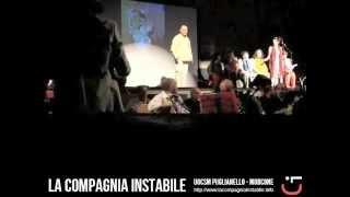 preview picture of video 'Vengo Anch'Io - LA Compagnia Instabile (Castello Baronale di Puglianello, 15 luglio 2013)'