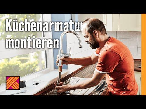 Küchenarmatur montieren | HORNBACH Meisterschmiede