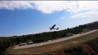 Casual plane chasing fpv