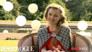 Хлоя Грейс Моретц, Chloe Grace Moretz's 2012 Teen Vogue Cover Shoot