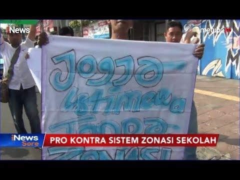 Puluhan Orang Tua di Yogyakarta Berunjuk Rasa Protes PPDB Sistem Zonasi - iNews Sore 23/06