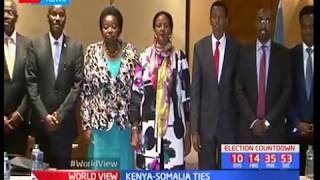 Kenya - Somalia ties : Both countries to  partner on training