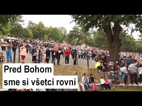 ĽUTINA: Púť rómskych rodín: Ježiš Kristus je živý aj v osade bez pitnej vody