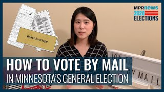 Election 2020: How to vote by mail in Minnesota's general election