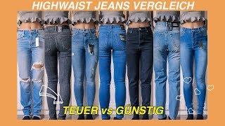 Die BESTE HIGHWAIST JEANS Für Dich | Vergleich & Tipps | Levis, Only & Co.