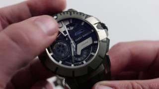 Harry Winston Zalium Sports Chronograph Luxury Watch Review
