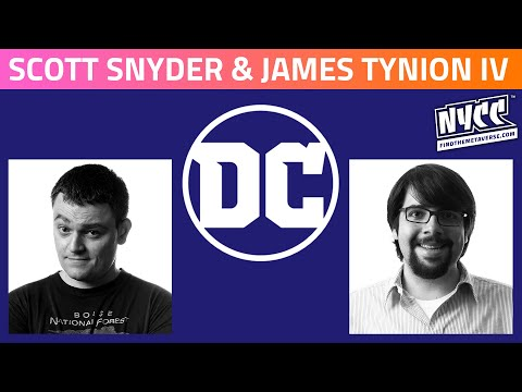 DC | In Conversation with Scott Snyder & James Tynion IV