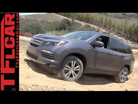2016 Honda Pilot Off-Road Tech Review: How To Use New AWD Tech To Get Unstuck