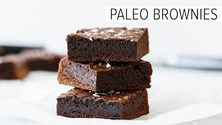 PALEO BROWNIES | Fudgy Dairy-free & Gluten-free Brownies