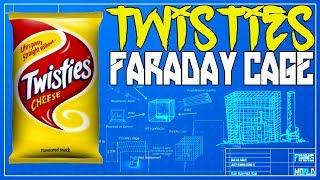 Faraday Bag with a twisties packet, Diy Faraday Bag