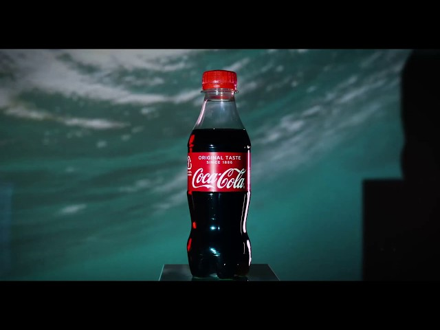 Introducing a world-first: Coke bottle made of marine plastic