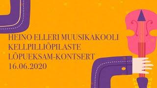 Keelpilliõpilaste online lõpueksam-kontsert