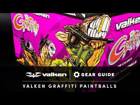 Valken Gear Guide Graffiti Paintballs