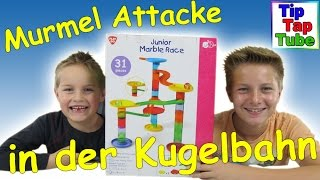 Playgo 2065 Junior Kugelbahn Murmelbahn Video Spielzeug auspacken und spielen Kanal für Kinder