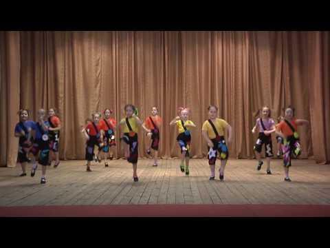 """13.   Кол-в """"Созвездие"""". Эстр. танец.   8-10 лет.  Танец """"Бум бум ла ла""""."""