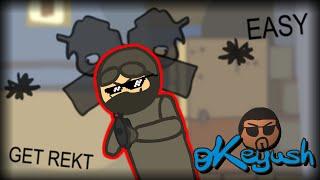 CS:GO Cartoon. Episode 1 Типичная тактика сильвера