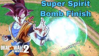 Petrifying Spit ONESHOT FAIL! SSG Goku SUPER SPIRIT BOMBS Cheap Player! Dragon Ball Xenoverse 2