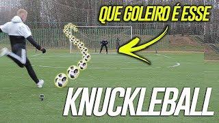 TUTORIAL KNUCKLEBALL COM ALEXEY GURKIN! ACHAMOS O MELHOR GOLEIRO DA RÚSSIA!