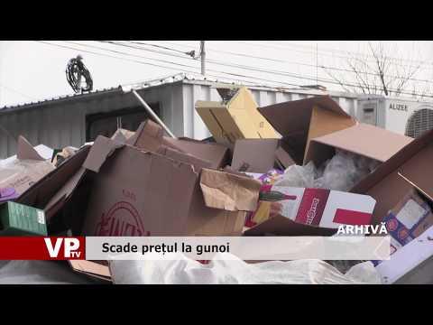 Scade prețul la gunoi