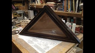 Woodworking : Memorial Flag Display Case w/ Storage // How-To