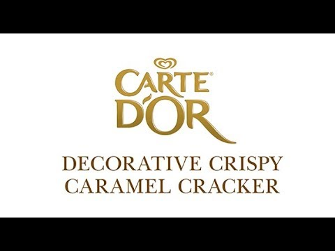 Crispy caramel cracker Carte D'Or | Unilever Food Solutions UK |