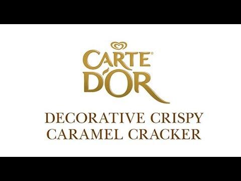 Crispy caramel cracker Carte D'Or   Unilever Food Solutions UK  