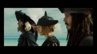 Piratas VS Lord Cutler Beckett AND Davy Jones