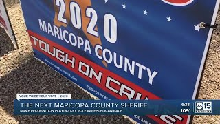 Who will be the next Maricopa County Sheriff?