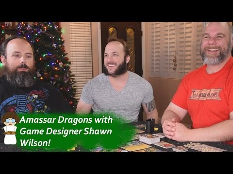 Learning to play Amasser with Game Designer Shawn Wilson