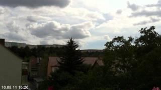 Wolken ziehn vorbei...