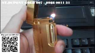 Tiếng hót poong poong của hộp quẹt Dupont Gold 007 - batluadocdao.com