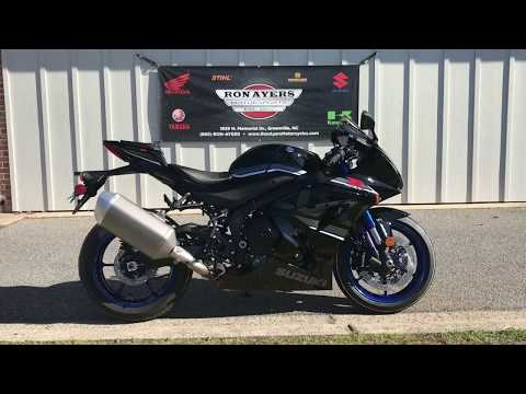 2018 Suzuki GSX-R1000R in Greenville, North Carolina - Video 1