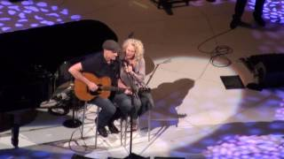 Carole King With James Taylor (HD) - I'll Do My Crying In The Rain - Boston Garden - 6/19/10