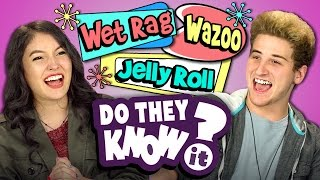 DO TEENS KNOW 50's SLANG? (REACT: Do They Know It?)