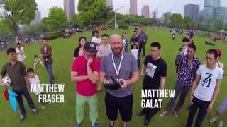preview picture of video 'Two Matts Flying a Drone in China'