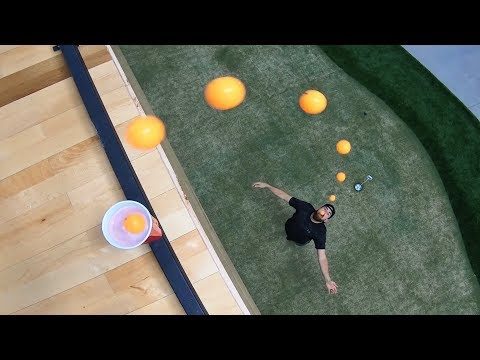 Ping Pong Trick Shots 5 | Dude Perfect (видео)