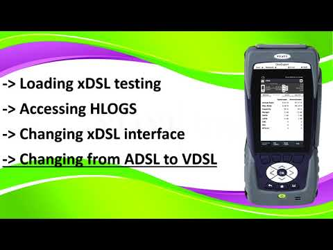 Video: VIAVI ONX-580 XDSL - Basic Functions - Getting Started