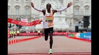 London Marathon 2019 / Eliud Kipchoge Wins His London Marathon Title Again
