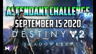 Ascendant Challenge September 15 2020 Solo Guide | Destiny 2 | Corrupted Eggs & Lore Location