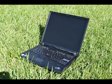 eBay Finds: Two $10 Lenovo IBM Thinkpad T60's Overview - игровое